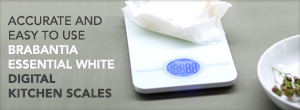 Digital Kitchen Scale - Essential White